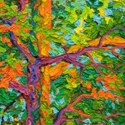 "Gem Balaams Wood Ancient Ash II - 9"" x 12"""