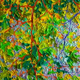 "Gem Balaams Wood Autumn Rain - 9"" x 12"""