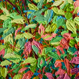 "Gem Balaams Wood Undergrowth - 9"" x 12"""