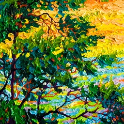 "Gem Pebble Beach Monerey Cypress II  - 9"" x 12"""