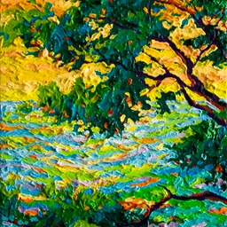"Gem Pebble Beach Monterey Cypress III - 9"" x 12"""