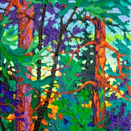 "Gem Twilight Glow II  - 12"" x 9"""