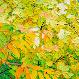 "Glimpse - Edge of Forest III - 13"" x 13"""