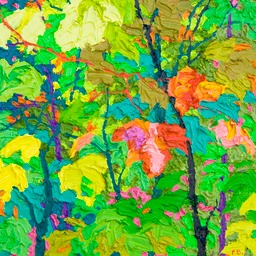 Glimpse - Floating Maples I LO