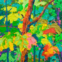 Glimpse - Floating Maples III LO