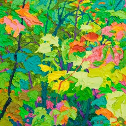 Glimpse - Floating Maples II LO