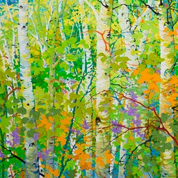 "Glorious Day - 36"" x 36"""