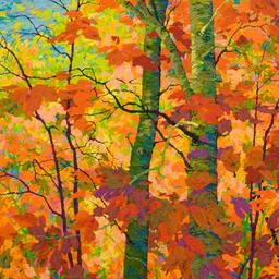 "In Autumn Glory III  - 36"" x 38"""