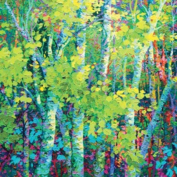 "Night Light III - 40"" x 40"""