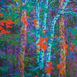"Night Light - 26"" x 26"""