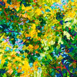 "Gaze - October in Santa Fe - 14"" x 11"""