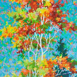 "Ode to Joy  - 72"" x 26"""
