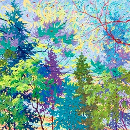 "Pipers at the Gates of Dawn - 36"" x 36"""