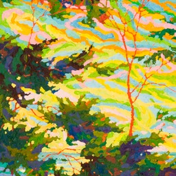 "Point Lobos Pacific Glory I - 32"" x 14"""