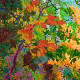 Purple Shadows - Glimpse Lo Web