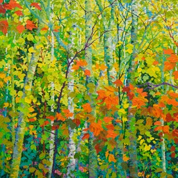 Santa Fe Canyon Preserve - Through Aspens Lo Web