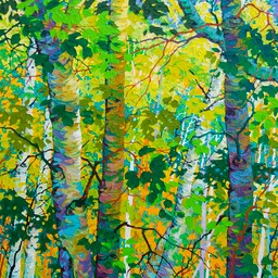 "Summer Dance II - 36"" x 36"""