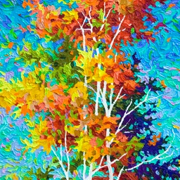 "Swimming in LIght - 32"" x 16"""