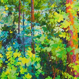 "Tall and Narrow II 36"" x 62"""