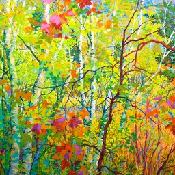 "The Far Bank - 60"" x 60"""