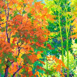 "Wealth of Autumn I - 26"" x 32"""